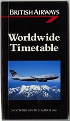 timetable: British Airways
