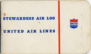 stewardess air log: United Air Lines