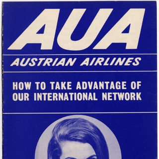 brochure: Austrian Airlines, general service