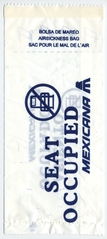 airsickness bag: Mexicana Airlines