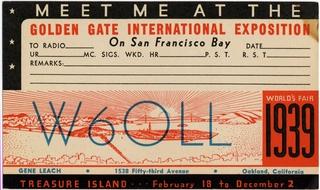 postcard: Radio Operators