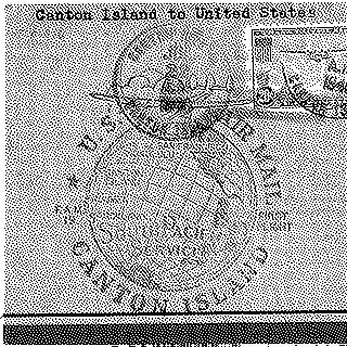 airmail flight cover: Pan American Airways, first airmail flight, FAM-19, Canton Island