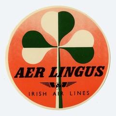 luggage label: Aer Lingus