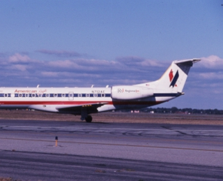 slide: American Eagle, Embraer ERJ 135, John F. Kennedy International Airport (JFK)
