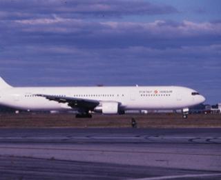 slide: Israir, Boeing 767-300, John F. Kennedy International Airport (JFK)