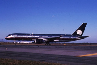 slide: AeroMexico, Boeing 757-200, John F. Kennedy International Airport (JFK)