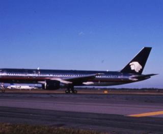 slide: AeroMexico, Boeing 757-200, John F. Kennedy International Airport (JFK)