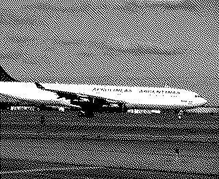 slide: Aerolineas Argentinas, Airbus A340-200, John F. Kennedy International Airport (JFK)