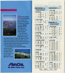 timetable: AirCal