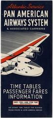 timetable: Pan American Airways