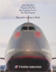 poster: United Airlines, Mileage Plus