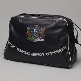 airline bag: BOAC (British Overseas Airways Corporation)
