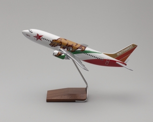 model airplane: Southwest Airlines, Boeing 737