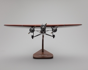 model airplane: American Airways, Ford Tri-Motor