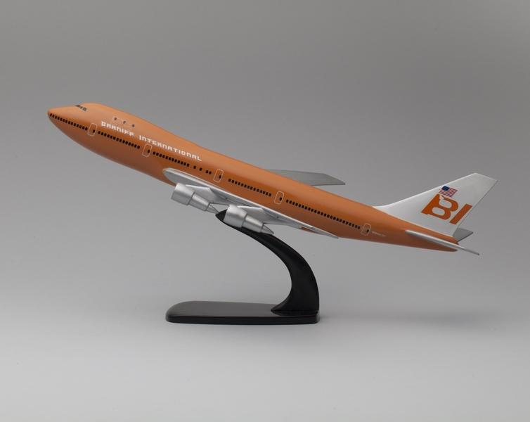 model airplane: Braniff International, Boeing 747