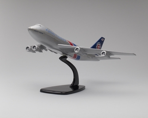model airplane: Flying Tigers (Cargo), Boeing 747-100F