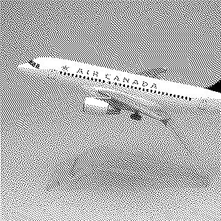 model airplane: Air Canada, Airbus A320