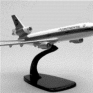 model airplane: Continental Airlines, McDonnell Douglas DC-10