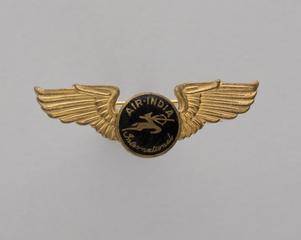 flight officer wings: Air India