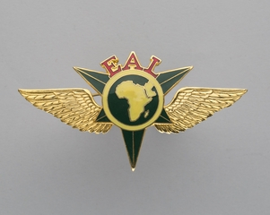 flight officer cap badge: Ethiopian Airlines