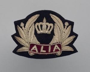 flight officer cap badge: Alia (Royal Jordanian Airlines)