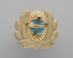 flight officer hat badge: Aeroflot Soviet Airlines