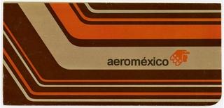 ticket jacket and ticket: AeroMéxico