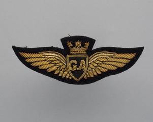 flight officer wings: Gulf Aviation