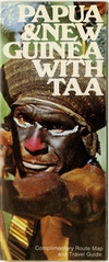 route map: Trans Australia Airlines (TAA), Papua New Guinea