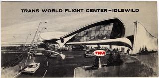 traveler information: TWA (Trans World Airlines), New York International Airport (Idlewild)