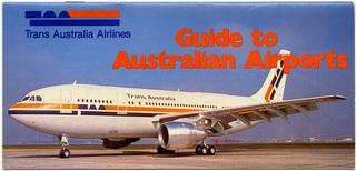 traveler information guide: Trans Australia Airlines (TAA)