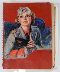 scrapbook: TWA (Trans World Airlines), Roberta Sturges Theurer
