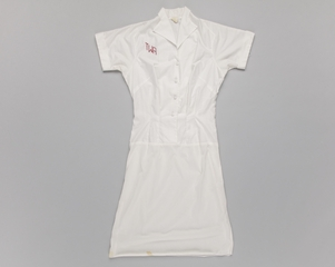"air hostess blouse-slip: TWA (Trans World Airlines), ""Green Summer"""