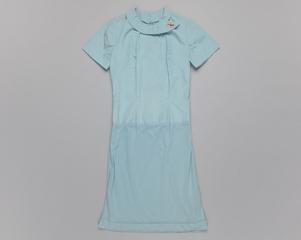 air hostess blouse-slip: TWA (Trans World Airlines), original summer