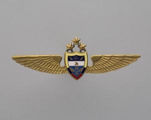 flight officer wings: CSA (Ceske Aerolinie)