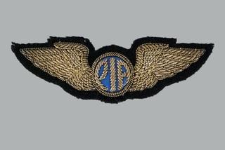 flight officer wings: Pakistan International Airlines