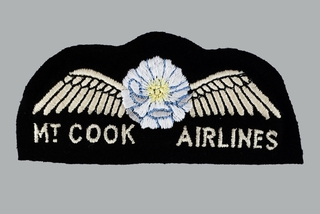 flight officer wings: Mt. Cook Airlines