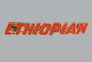 flight attendant pin: Ethiopian Airlines