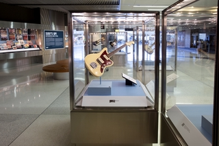 "Installation view of ""Surf's Up! Instrumental Rock n' Roll"""