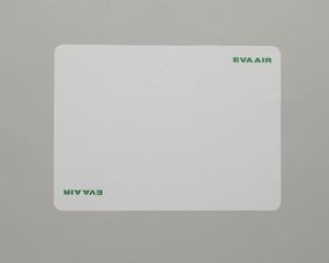 meal tray liner: EVA Air