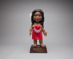 "promotional ""Menehune"" doll: United Airlines"