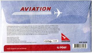 airmail flight cover: Qantas Airways